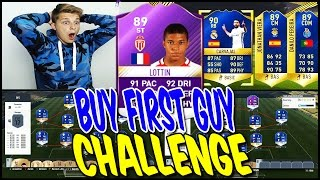 FIFA 17 - 89 MBAPPE BUY FIRST GUY SQUAD BUILDER CHALLENGE! ⚽⛔️😝 - ULTIMATE TEAM (DEUTSCH)