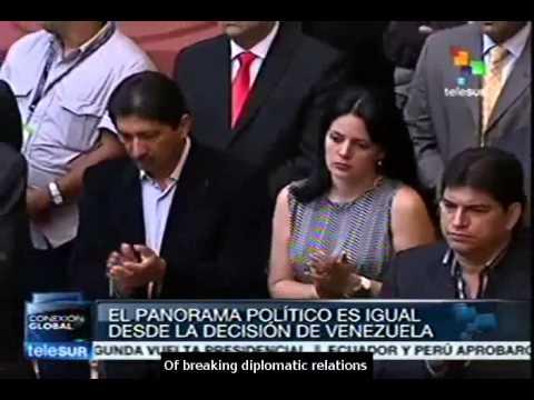 Venezuela breaks ties with Panama over conspiracy allegations