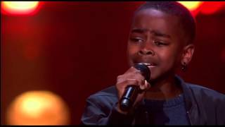 12-Year Old Gemario Sings Adele & Gives Everyone Chills - The Voice Kids