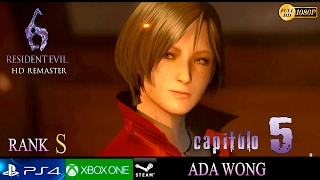 Resident Evil 6 HD Campaña Ada Wong Capitulo FINAL | Gameplay Español Parte 20 | No HUD 1080p