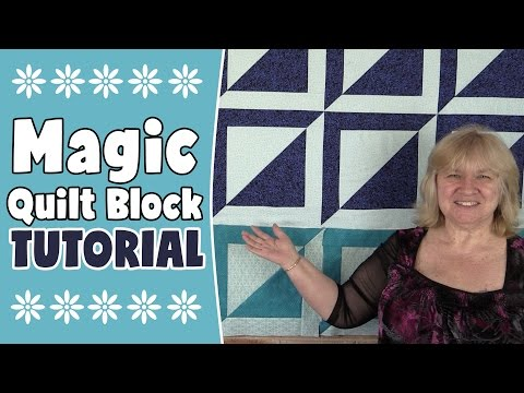 Magic Square Quilt Block Tutorial - Quilting Tutorial