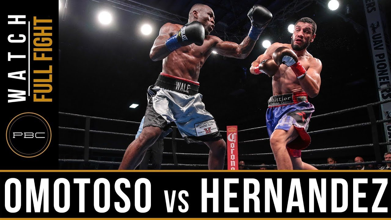 Omotoso vs Hernandez FULL FIGHT: December 15, 2017 - PBC on FS1