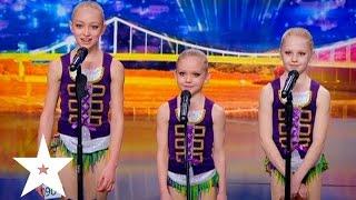 Детские акробатические танцы Трио «Miracle» - Україна має талант-7 - Второй кастинг в Киеве