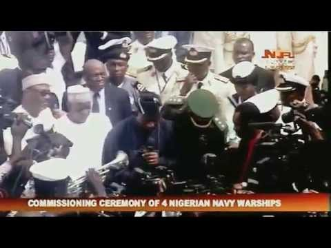 COMMISSIONING CEREMONY OF 4 NIGERIAN WAR SHIP