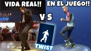 "NEW DANCE ""TWIST"" VS GAME IN REAL LIFE ? FORTNITE SEASON 5"