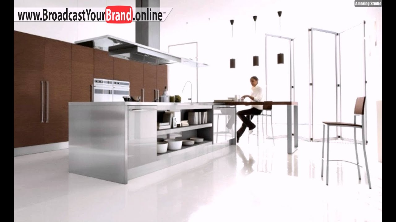 Stars Record Cucine Edelstahl Kücheninsel Abzugshaube - YouTube