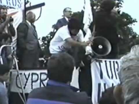 Turkey out of Cyprus Demonstration 1988 - Cyprus Week in Lon