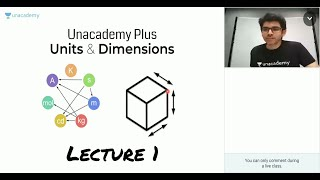 Units & Dimensions - Lecture 1 | Unacademy Plus | IIT JEE Physics | Namo Kaul
