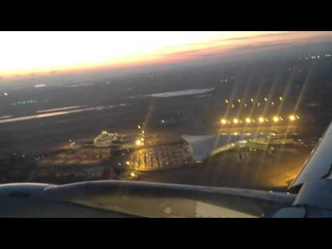 Take off from Baku international Airport Qatar Airways