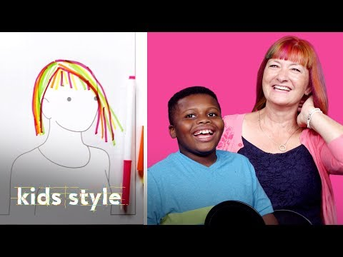 Kids Give Their Teachers Wild Hair Makeovers! | Kids Style | HiHo Kids