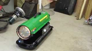 John Deere AC-70-1 Heater  Multifuel run...