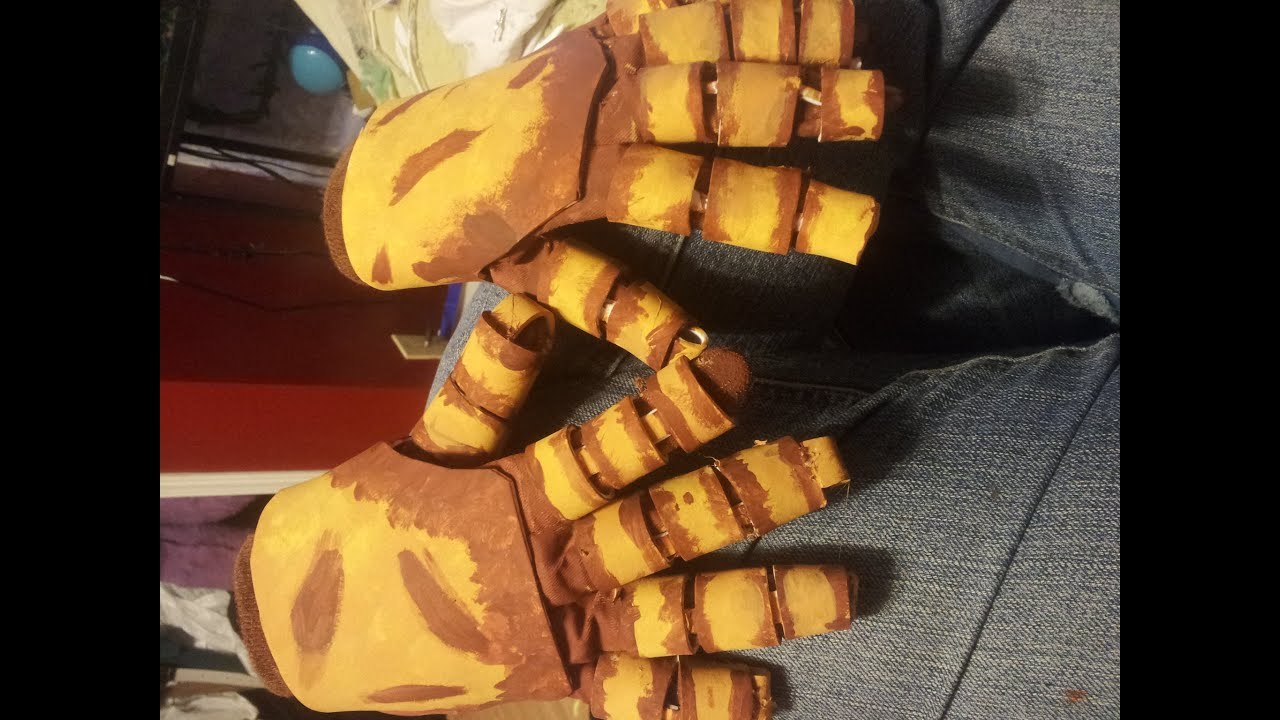 Fnaf springtrap cosplay tutorial part three hands and feet