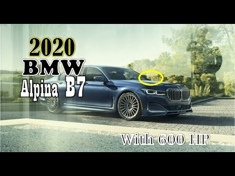 [Luck This] 2020 BMW Alpina B7 xDrive Price : Coming With 600 HP at $141,700
