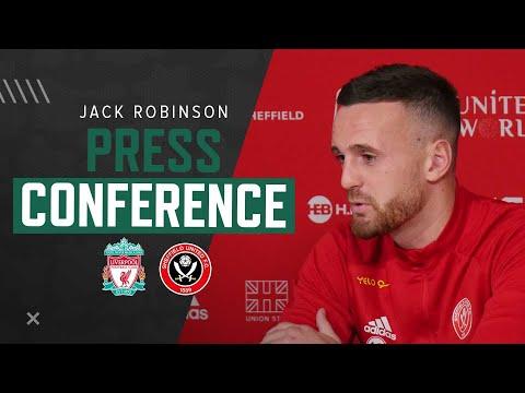 Jack Robinson | Liverpool v Sheffield United | Premier League press conference