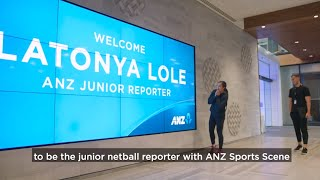 ANZ Netball Grant - The Next Sports Reporter