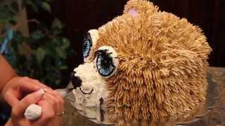 (How To Make) Teddy Bear Cake / Cake Decorating