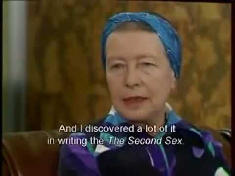 Simone de Beauvoir Interview  Why I'm a feminist 1975 English Subs
