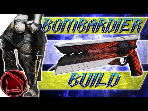 Destiny 2: Bombardiers Build & Hunter Exotics Review w/o Void Battery - Sunshot Catalyst PvP Build