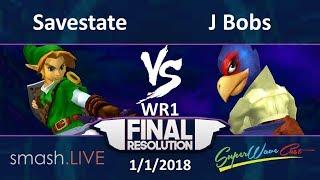 Final Resolution W1 - J Bobs (Falco) vs. s.L   Savestate (Link) thumbnail