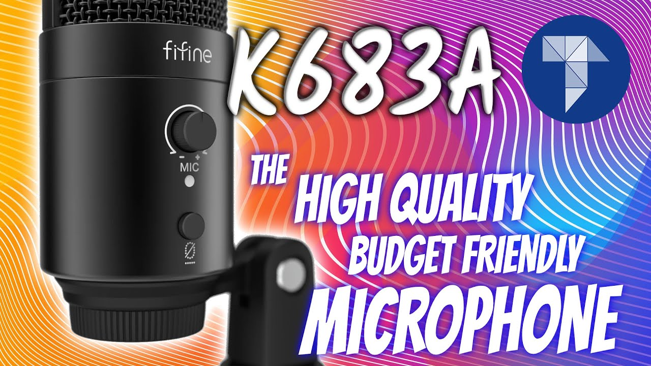 FIFINE USB Microphone K683A: The High Quality, Budget Friendly Microphone