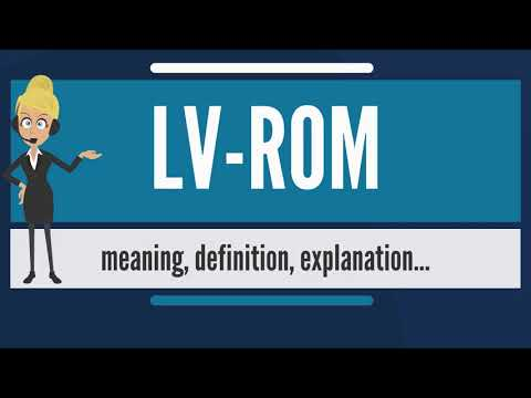 What is LV-ROM? What does LV-ROM mean? LV-ROM meaning, definition & explanation
