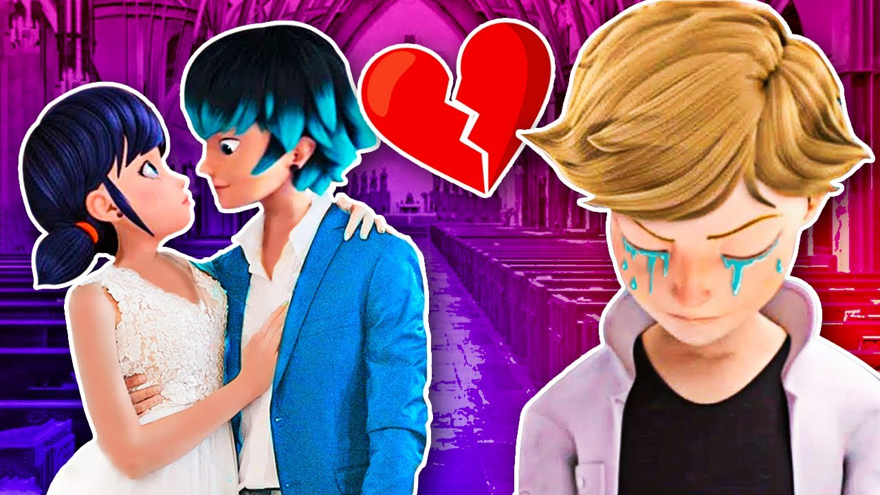 MARINETTE GETS MARRIED WITH LUKA 😱 WHAT ABOUT ADRIEN? 💔 Miraculous Ladybug