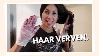 Haar verven + naar Amsterdam! [extra vlog]