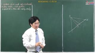 Bài giảng Hình học 11 - Quan hệ vuông góc - Khoảng cách