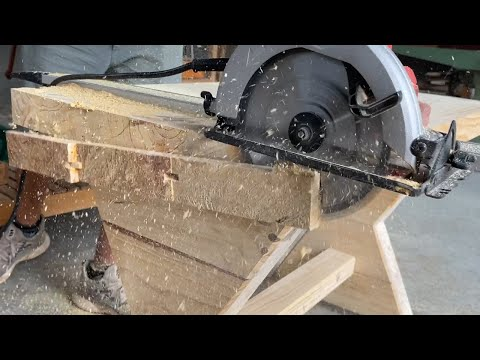 Super Project Using Cheap Wood // Crafting Super Beautiful And Solid Home Furniture