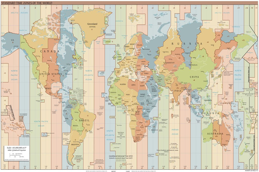 World Clock Map - YouTube