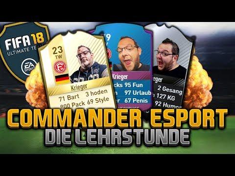 CommanderKrieger goes FIFA 18 E-Sport -  ABGEHOBEN over 9000 - definitiv ironisch