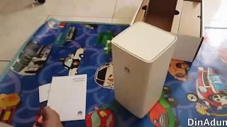 Unboxing Huawei B618-22d Malaysia