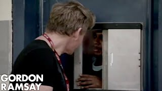 Gordon Ramsay Goes To Prison For The First Time  | Gordon Behind Bars
