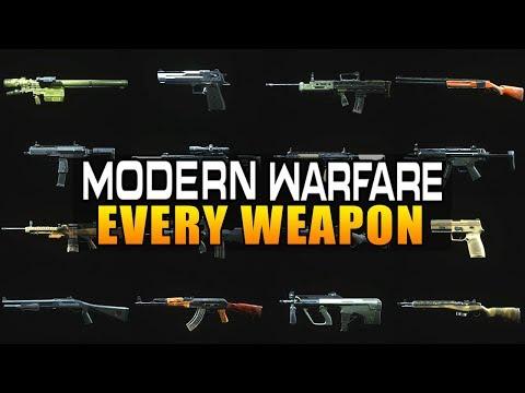 Every Weapon In Call Of Duty Modern Warfare (COD MW All Guns)