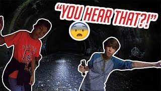 We Explored a Mile of Underground Tunnels!