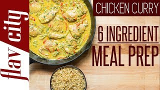 Epic 6 Ingredient Chicken Meal Prep - Easy & Healthy Recipe for Chicken