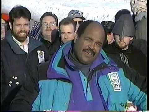 1994 Winter Games CBS - France/ Norway Hockey and Goofy Norway Segment