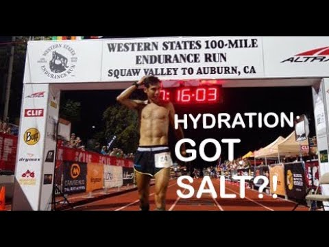 RUNNING HYDRATION: WATER TO ELECTROLYTE (SODIUM) BALANCE: Drink Mix and Diet Nutrition Tips!