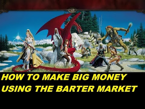 EVERQUEST LIVE - How to make big money using the barter market 04/16/17 (1080p)