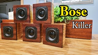 Better Than Bose Cube Speakers…