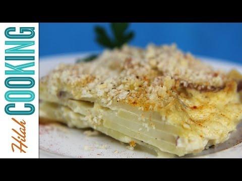 How to Make Scalloped Potatoes |  Hilah Cooking