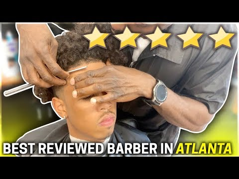 Getting a HAIRCUT At The BEST REVIEWED BARBER In My City 6 STAR **ATLANTA**