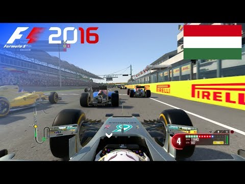 F1 2016 - 100% Race at Hungaroring, Hungary in Hamilton
