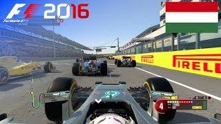 F1 2016 - 100% Race at Hungaroring, Hungary in Hamilton's Mercedes