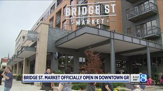 Bridge Street Market in downtown GR opens