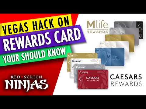 SLOT PLAYERS - HOW TO MAX YOUR REWARDS CARD IN LAS VEGAS AND GET MORE!
