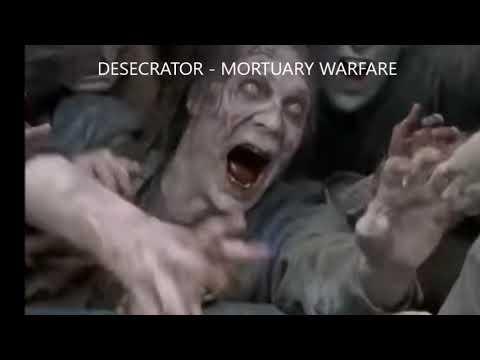 DESECRATOR - Mortuary Warfare - 80's band Desecrator remake track for RockAndMetalNewz exclusive!