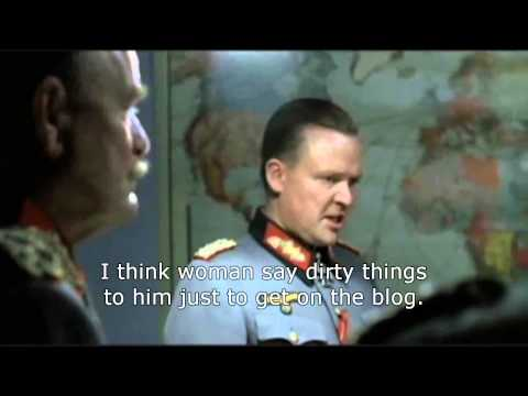 Hitler Finds Out About Rob's Blog Reaching Half a Million Pageviews