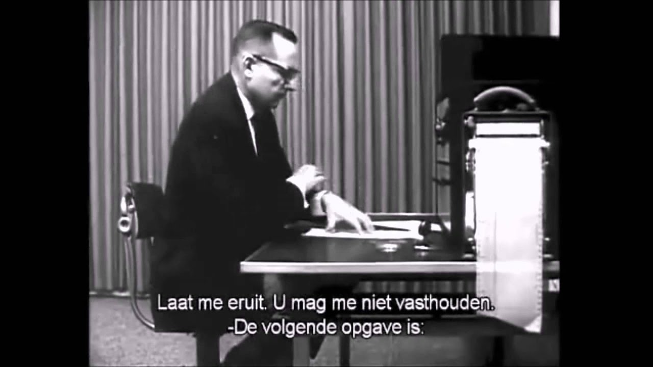 obedience milgram experiment Obedience: milgram (1963) one reason it became famous is that milgram re­leased an educational film about the experiment called obedience (1965) it showed scenes from the actual experi­ment decades after the experiment.