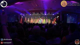 ataca y la alemana corazoncito el sol salsa festival 2016